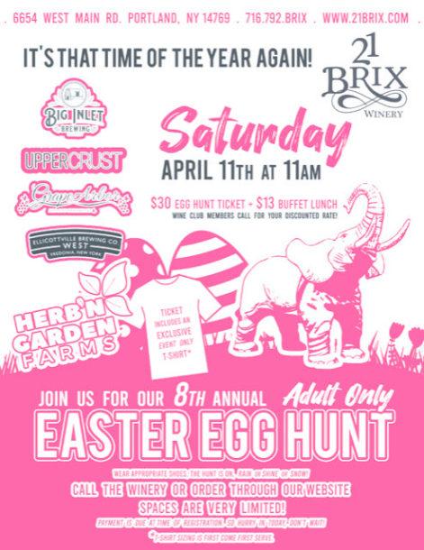 Egg Hunt 2020 Flyer