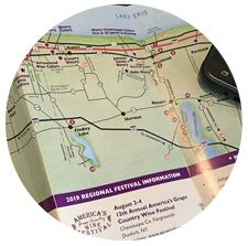 LEWC Brochure showing map